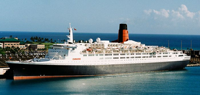 Cunard Queen Elizabeth 2 ship