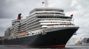Cunard Queen Elizabeth ship, Southampton cruise port