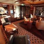 Cunard Queen Elizabeth Churchill's Cigar Lounge