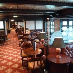 Cunard Queen Elizabeth ship Golden Lion Pub