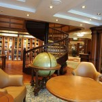 Cunard Queen Elizabeth ship Library
