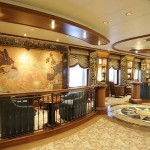 Cunard Queen Elizabeth ship Midships Bar
