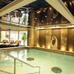 "Cunard Queen Elizabeth cruise ship Spa ""Royal Spa"""