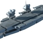 HMS Queen Elizabeth aircraft carrier blocks plan