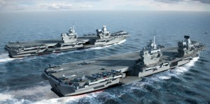 new UK aircraft carriers QE class